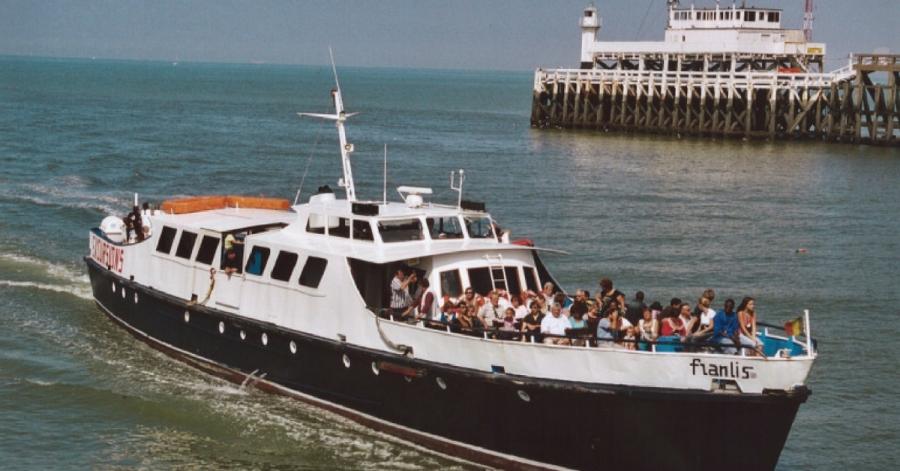 Oostende-weekend: schutters op zee met de Franlis III