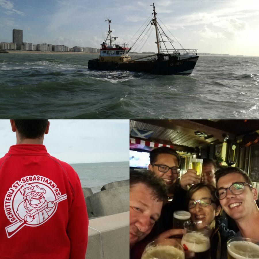 Gildendag Oostende: Fort Napoleon, optocht & boottocht op zee