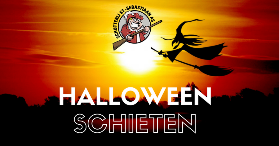 Halloween-schieten met de luchtbuks