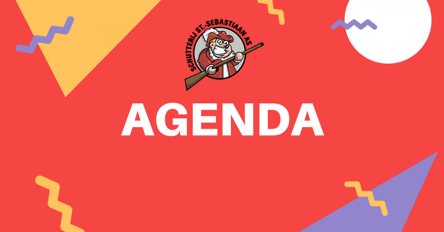 Agenda schutterij april 2017
