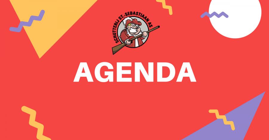 Agenda schutterij mei 2017