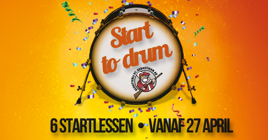 Start to drum vanaf 27 april met Braziliaanse percussie
