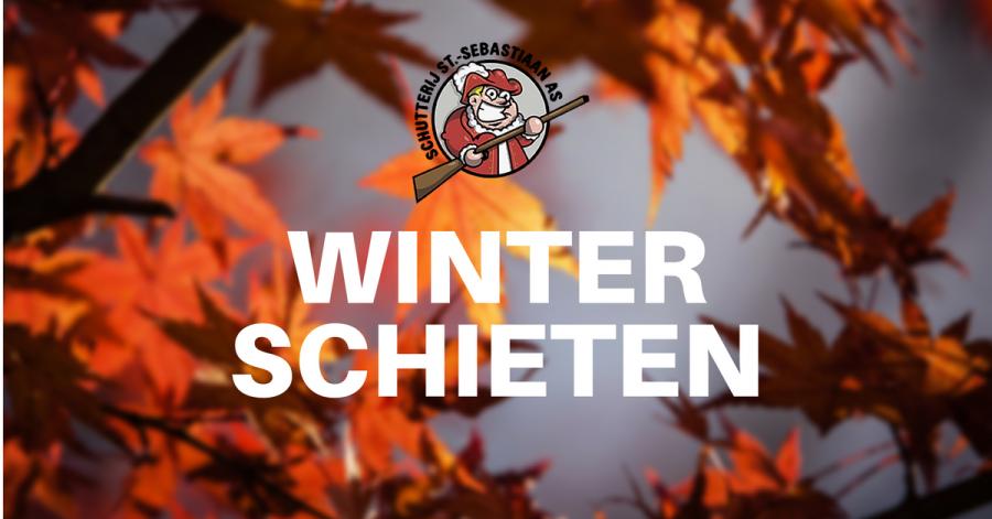 Winter schieten: elke 3e zaterdag van de maand